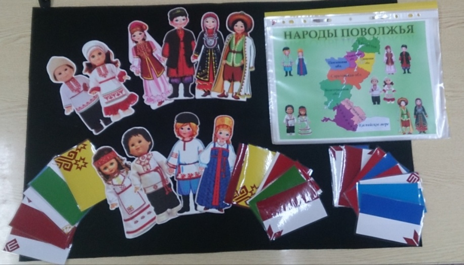 знакомство дошкольников с народами поволжья